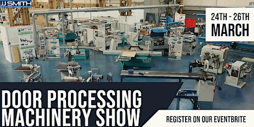 JJ Smith | Door Processing Machinery Show