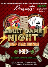 Adult Game Night Leap Year Edition tickets