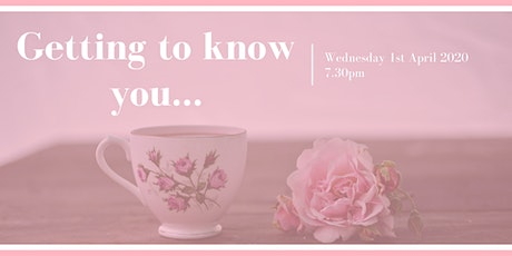 Getting to know you! - West Moor Wonders WI Monthly Meeting tickets