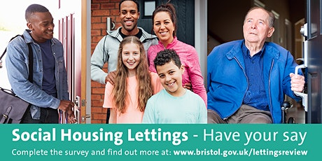 Social Housing Lettings - Redcliffe, have your say tickets