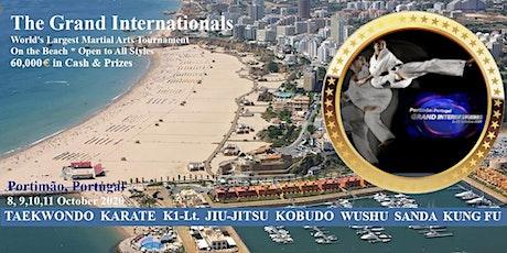 The Grand Internationals bilhetes