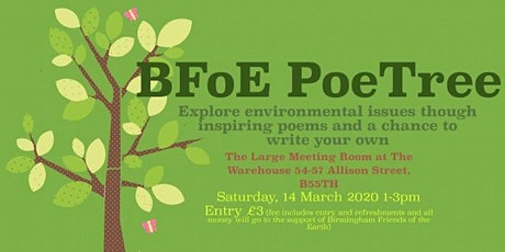 BFoE PoeTree Event  tickets