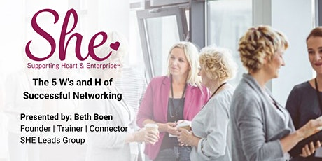 Denver Networking & Training Event: The 5 W's and H of Networking tickets