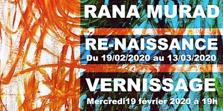 """EXPOSITION """"VERNISSAGE RANA MURAD"""" tickets"""