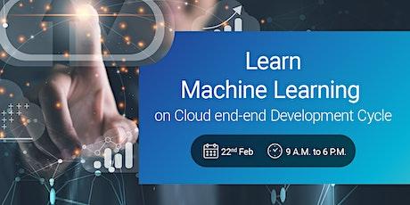 Learn Machine Learning On Cloud tickets