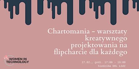 Chartomania - warsztaty kreatywnego projektowania na flipcharcie dla każdego tickets