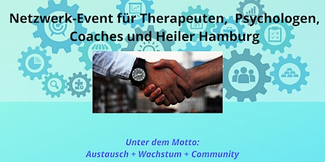Network Event for Therapists, Psychologists, Coaches and Healers in Hamburg Tickets