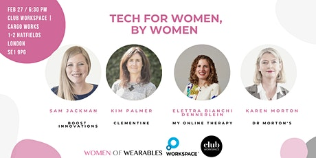 From Founder's Perspective - Tech For Women, By Women tickets
