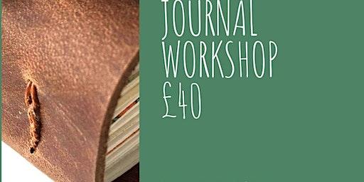 Long Stitch Leather Journal Workshop
