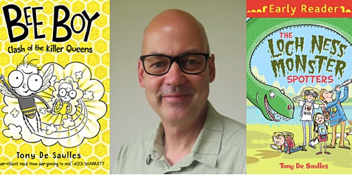 Tony De Saulles - Author and Illustrator