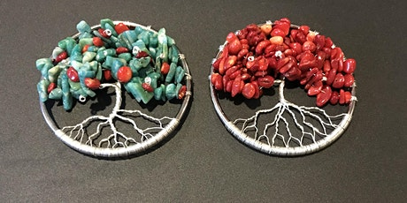 Make your own Tree-of-Life pendant with natural gemstones! tickets