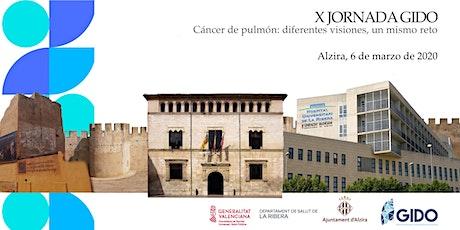 X Jornada GIDO.  Cáncer de pulmón: diferentes visiones, un mismo reto tickets