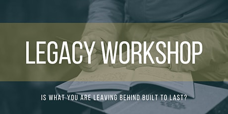 Legacy Workshop tickets