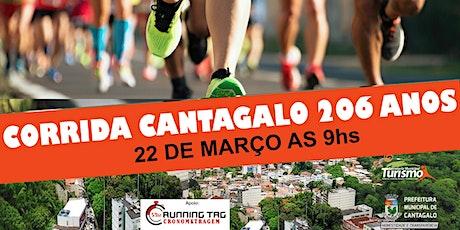 CORRIDA DOS 206 ANOS DE CANTAGALO – 6KM ingressos