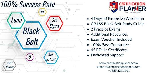 Lean Six Sigma Black Belt(LSSBB )Certification Training in Edmonton