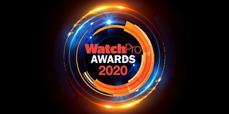 WatchPro Awards 2020 tickets