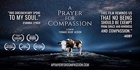 Exibição do Documentário #A Prayer For Compassion (2019) bilhetes