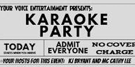 Karaoke Wednesdays AM Seafood Restaurant and Bar Fredericksburg VA tickets
