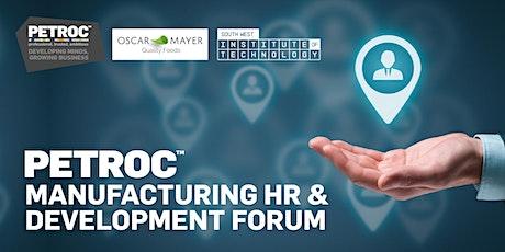POSTPONED -- Manufacturing HR & Development Forum tickets