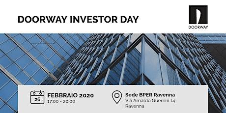 Doorway Investor Day Ravenna biglietti