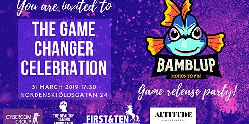 Bamblup Motion to Win, game release party!
