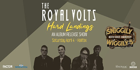 """The Royal Volts """"Hard Landings"""" Album Release Party tickets"""