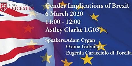 Gender Implications of Brexit tickets