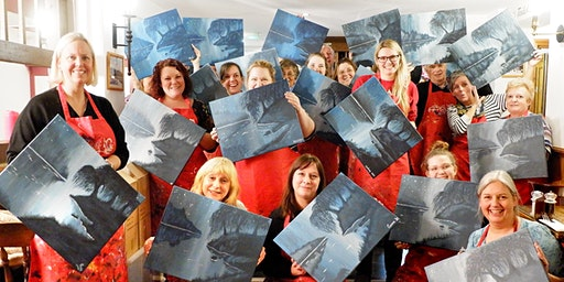 Moody Blues Brush Party – Wantage