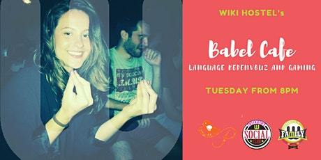 Babel Cafè and Happy Hour: language reden vouz and gamin! tickets