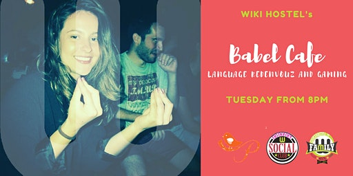 Babel Cafè and Happy Hour: language reden vouz and gamin!