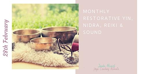 Yin, Nidra, Reiki & Sound