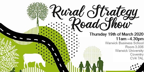 Rural Strategy Roadshow, Warwick tickets