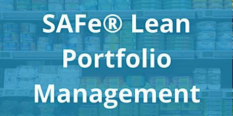 SAFe® Lean Portfolio Management Tickets