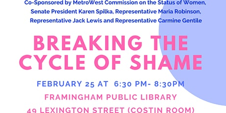 Breaking the Cycle of Shame: A Reproductive Justice Forum tickets