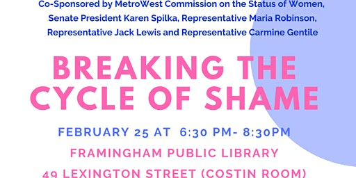 Breaking the Cycle of Shame: A Reproductive Justice Forum