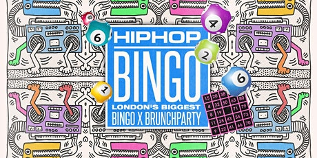 The London HipHop Bingo x Brunch - April | Live at Dabbers  tickets