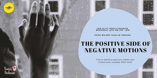 Wellness Wednesday - The positive side of negative emotions