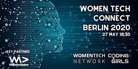 WomenTech Connect Berlin 2020 (Employer Tickets) tickets