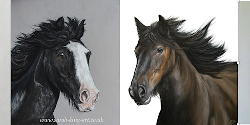 Pastel Workshop - Horses in pastel