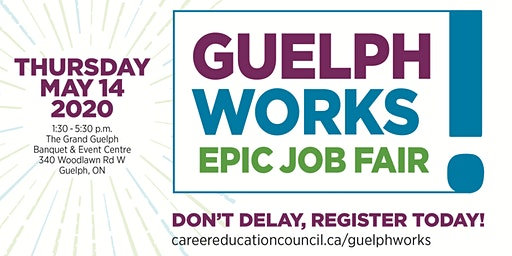 Guelph Works - Epic Job Fair (Employers)