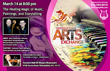 The Healing Magic of Music, Paintings and Storytelling tickets