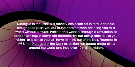 Dialogue in the Dark   April tickets