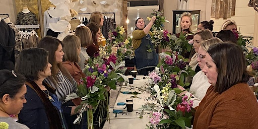 Spring Flower Design Class at THREAD
