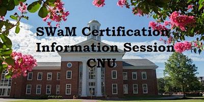 SWaM Certification Information Session CNU