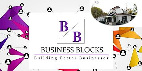 BUSINESS BLOCKS NETWORKING EVENT  OCTOBER 2020, Chigwell billets