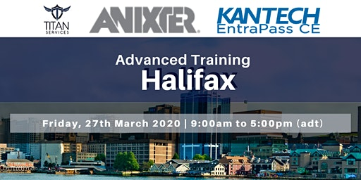 Halifax Advanced Kantech Training - Anixter