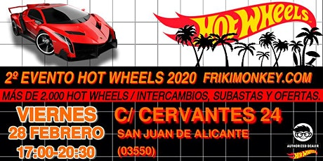 2º Evento Hot Wheels 2020 - FRIKI MONKEY tickets