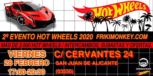 2º Evento Hot Wheels 2020 - FRIKI MONKEY