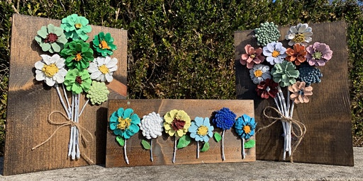 Pinecone Flower Wall Decor