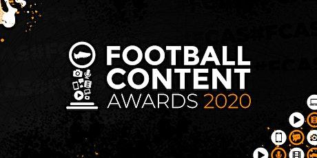 Football Content Awards 2020 tickets